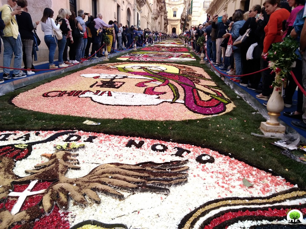 INFIORATA OF NOTO 2018: IN THE TEACHING OF THE PROSPERITY